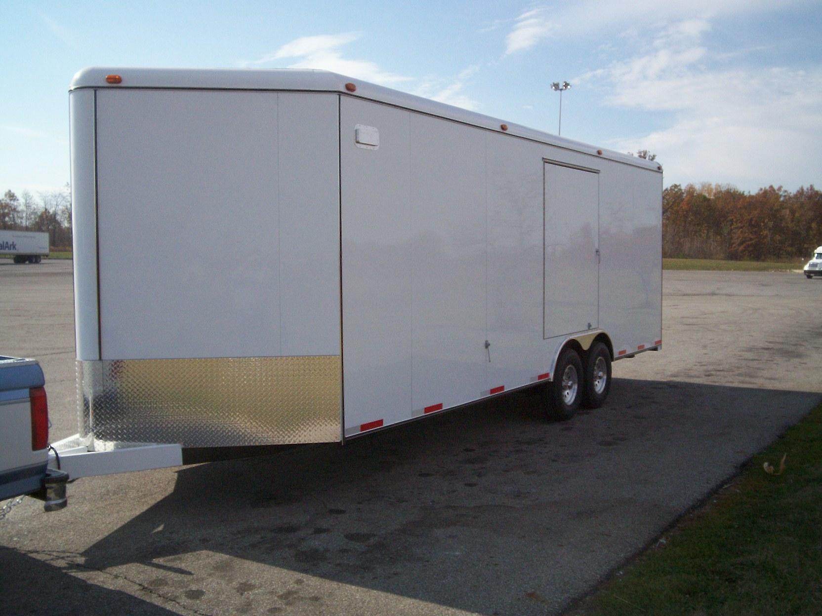 Enclosed Car Trailers Triple B. Enclosed Car Trailers. Wiring. Livestock Trailer Cargo Light Wiring Diagram At Scoala.co